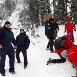 Bărbat aflat în stare de ebrietate, salvat de jandarmii montani