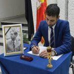 În memoria Regelui Mihai – Carte de condoleanțe la Palatul Administrativ