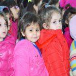 """Acțiunea """"Copiii dăruiesc copiilor"""" în holul Palatului Administrativ"""