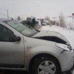 Accidente în lanţ din cauza carosabilului acoperit de zăpadă, gheaţă sau polei