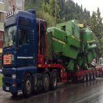 Atenţie şoferi! Un transport agabaritic va paraliza jumătate din ţară timp de mai multe zile