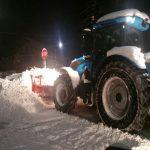 Strat generos de zăpadă şi temperaturi scăzute. Află cum se circulă în Maramureş