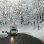 Drumarii au muncit toată noaptea în Maramureş. Află cum se circulă în judeţ