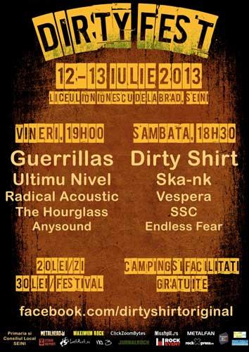 Afis Dirty Fest 2013