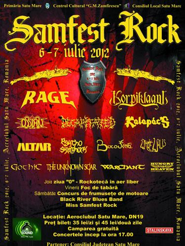 Foto: Samfest Rock 2012 - afis