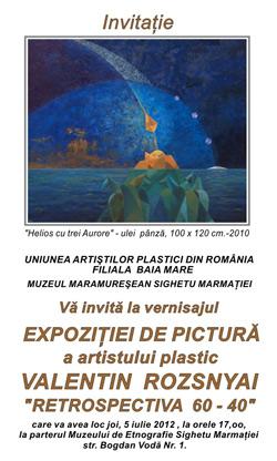 Foto Expozitie Valentin Rozsnyai