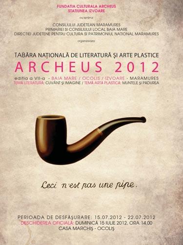 Foto afis Archeus 2012