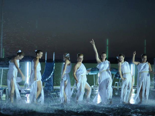 Foto: party piscina Romanita