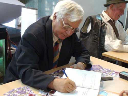 Foto Pamfil Biltiu - lansare de carte