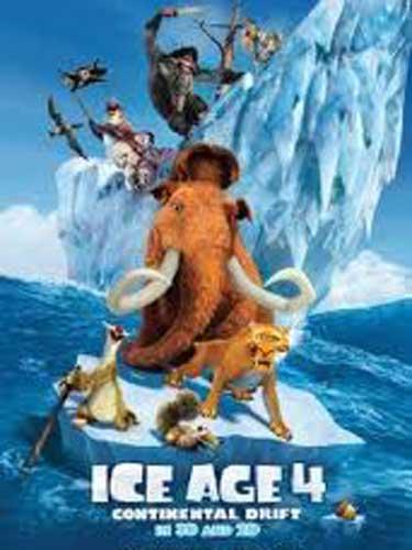 Ice Age 4  - afis