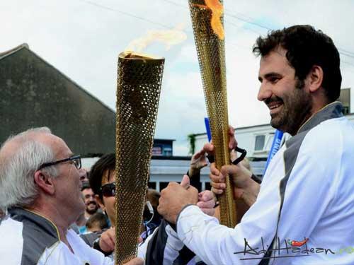 Foto: Adi Hadean - torta olimpica - JO Londra 2012