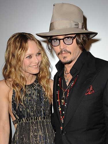 Johnny Depp si Vanessa Paradis