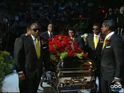 Inmormantare Michael Jackson