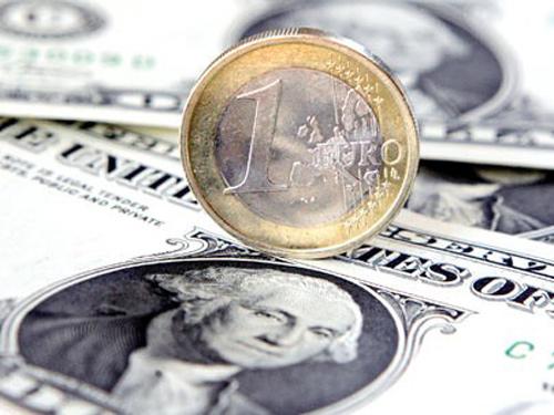 Foto euro si dolar