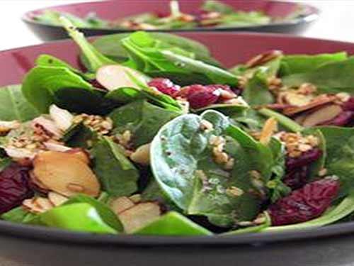 Foto: salata cu spanac