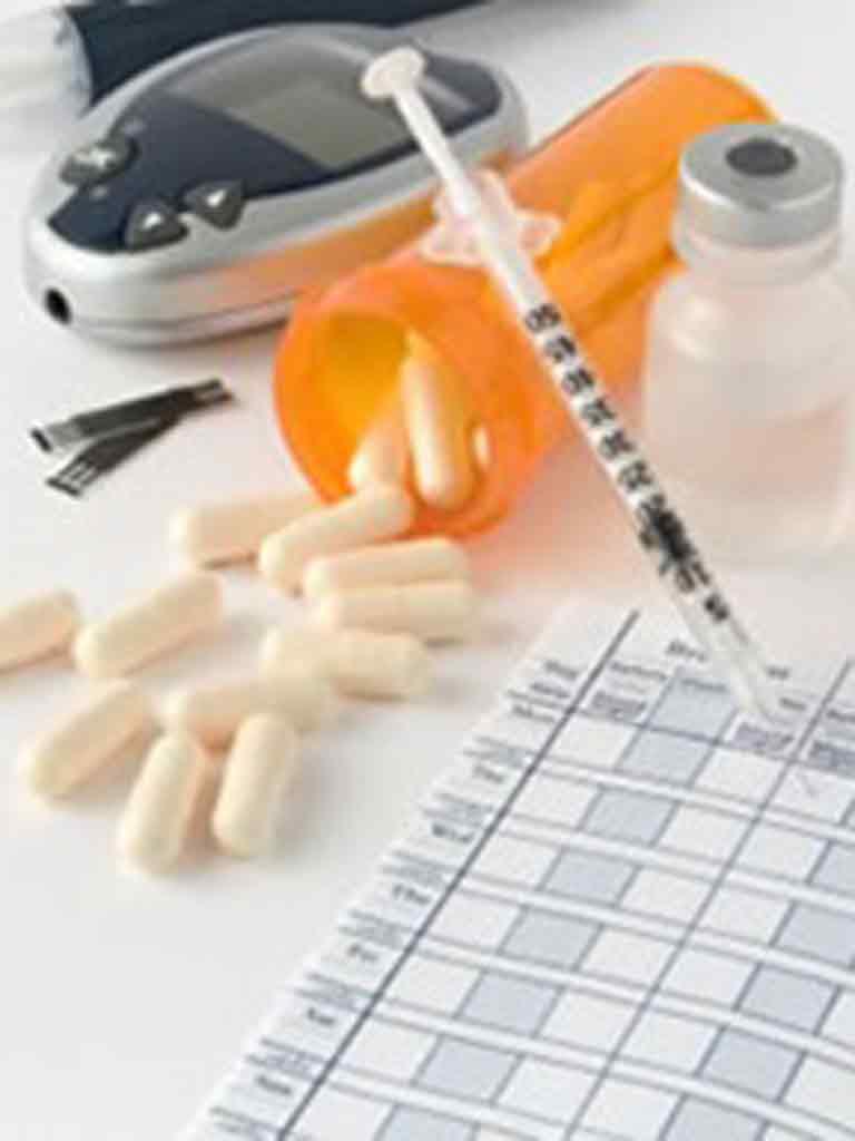 Foto diabet - tratament