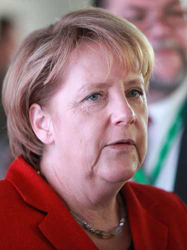 Angela Merkel  - wikipedia.org