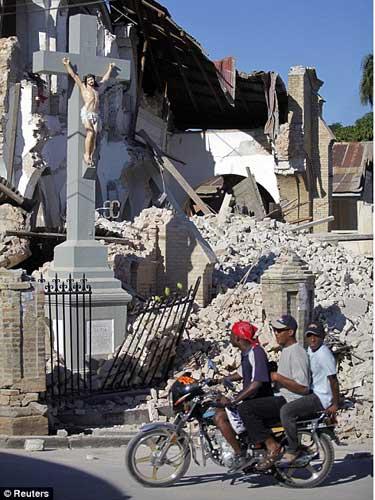 Foto cutremur Haiti