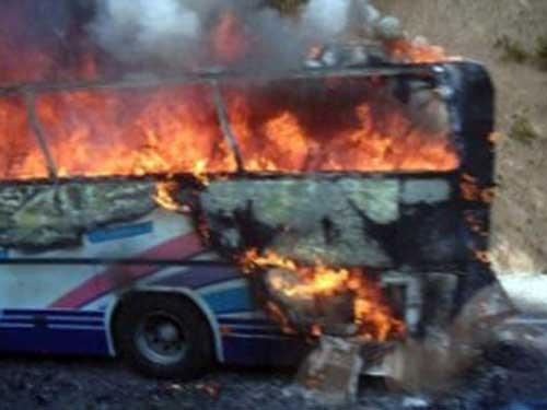 Foto: explozie Burgas - atac terorist Bulgaria (c) rt.com