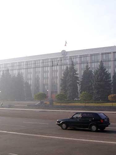Sediul Guvernului din Chisinau