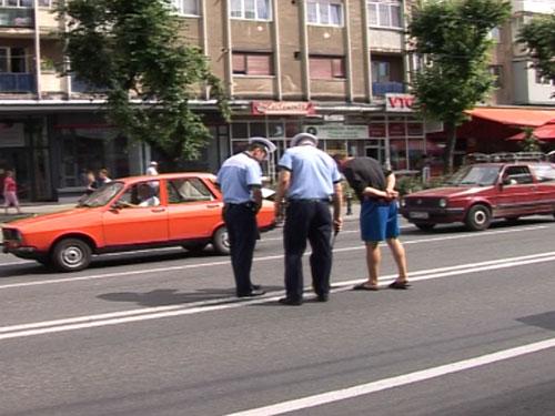 Foto: accident bulevardul Bucuresti - Baia Mare (c) eMaramures.ro