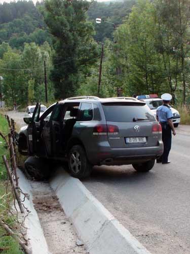 Foto: accident Cavnic (c) eMaramures.ro