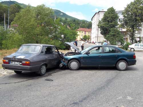 Foto: accident Cavnic