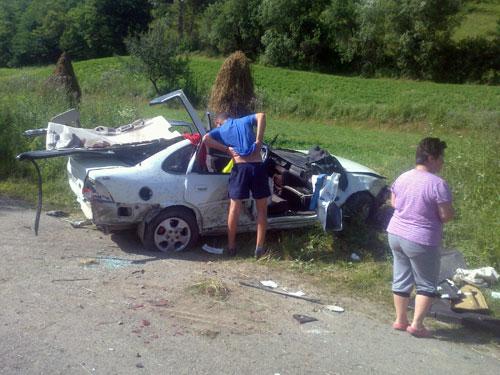 Foto: accident Rohia - Maramures