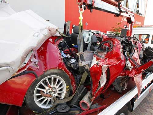 Foto: accident Treviso - Italia (c) Tribuna di Treviso