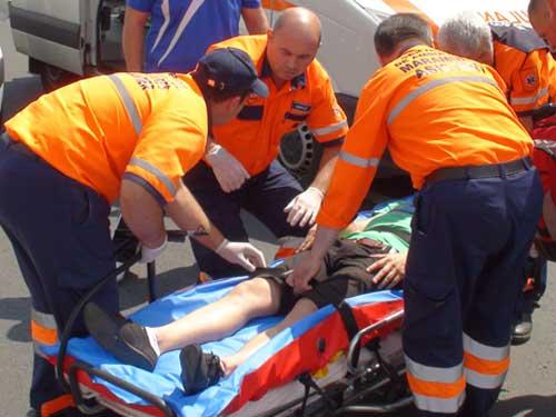 FOTO: Accident de motocicleta (c) eMM.ro