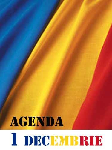 Agenda 1 Decembrie