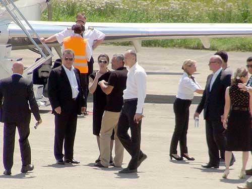 FOTO: Frank Timis a ajuns in Baia Mare (c) eMM.ro