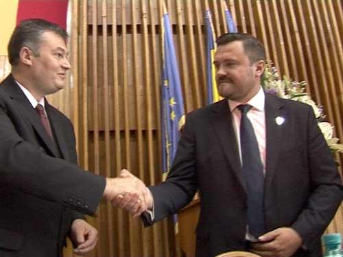 Instalarea presedintelui Consiliului Judetean Maramures (c) eMM.ro