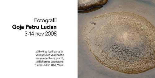 invitatie expo Lucian Petru Goja