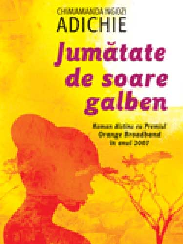Foto coperta carte Jumatate de soare galben