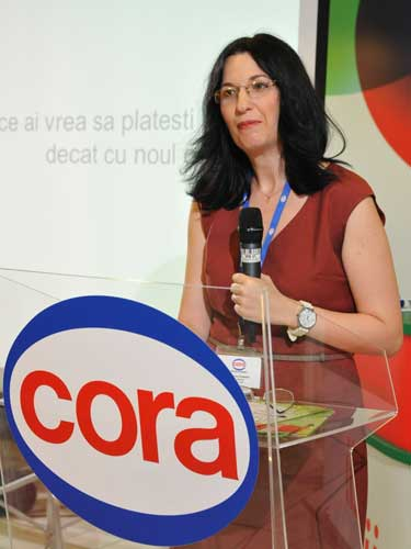 Foto: Marilena Cirsteanu, Sef Serviciu Card Cora