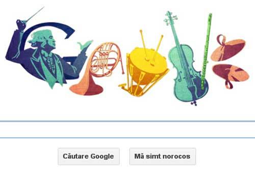 Celibidache, celebrat de Google