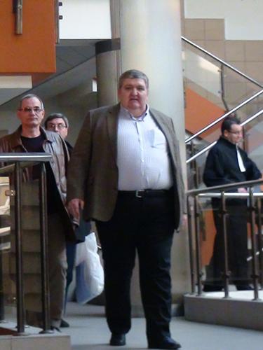 Foto Ioan Hoban la Tribunalul Maramures (c) eMM.ro