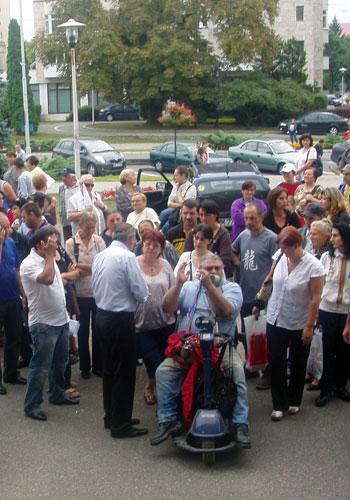 Proteste disperate (c) eMM.ro