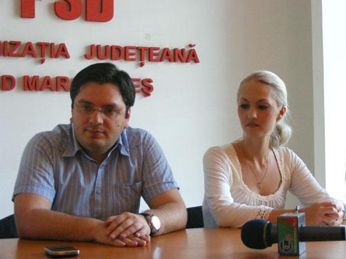 Foto Ioana Pop si Nicolae Banicioiu (c) eMaramures