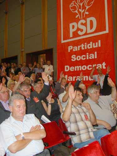 Sedinta la PSD Maramures (c) eMM.ro