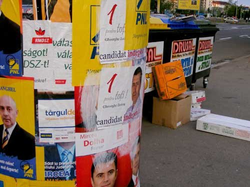 Afise electorale Baia Mare
