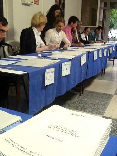Alegeri in Maramures (c) eMM.ro
