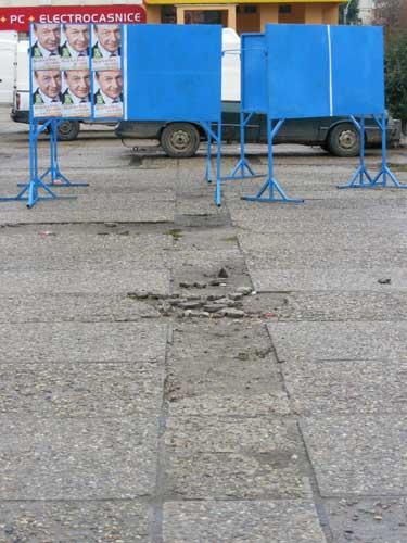 Foto panou afisaj electoral (c) eMaramures.ro