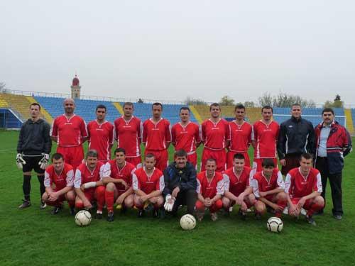 Foto: echipa de fotbal ISU Maramures