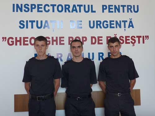 Noi angajati la ISU (C) ISU Maramures