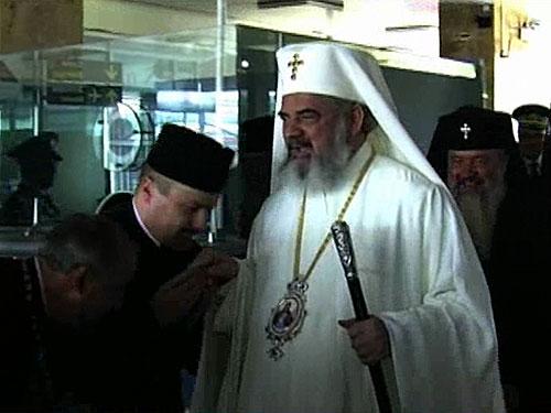 Foto: Patriarhul Daniel in Maramures - aeroport (c) eMaramures.ro
