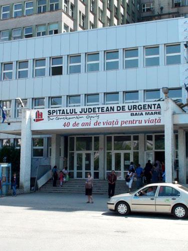 Foto: Spitalul Judetean Baia Mare (c) eMaramures.ro