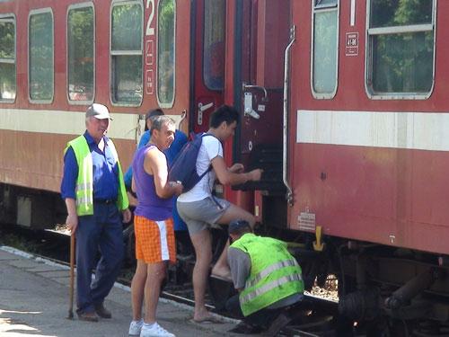Foto tren - Gara Baia Mare (c) eMaramures.ro