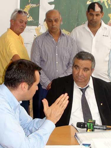FOTO: Regele Cioaba, la primarul Chereches (c) eMM.ro